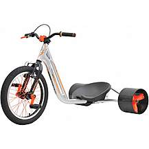 image of Triad Counter Measure Drift Trike - Silver/Orange