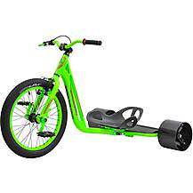 image of Triad Lantern Drift Trike - Luminous Green