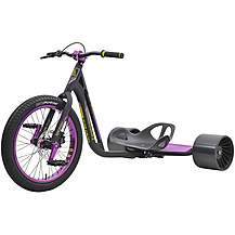 image of Triad Syndicate Drift Trike - Black/Purple