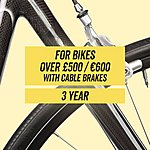 image of Performance CycleCare- Cable Brakes 3 Year