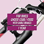 image of Leisure CycleCare - Cable Brakes 1 Year