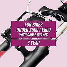 image of Leisure CycleCare - Cable Brakes 3 Year