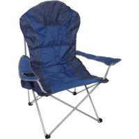 Halfords Premium Folding Chair - Blue