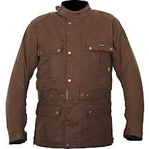 image of Weise Glenmore Wax Jacket Brown