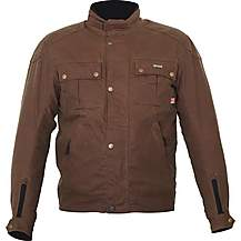 image of Weise Ashlands Wax Jacket Brown