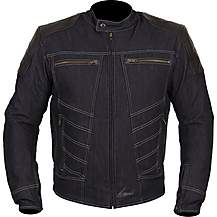 image of Weise Fury Denim / Leather Jacket