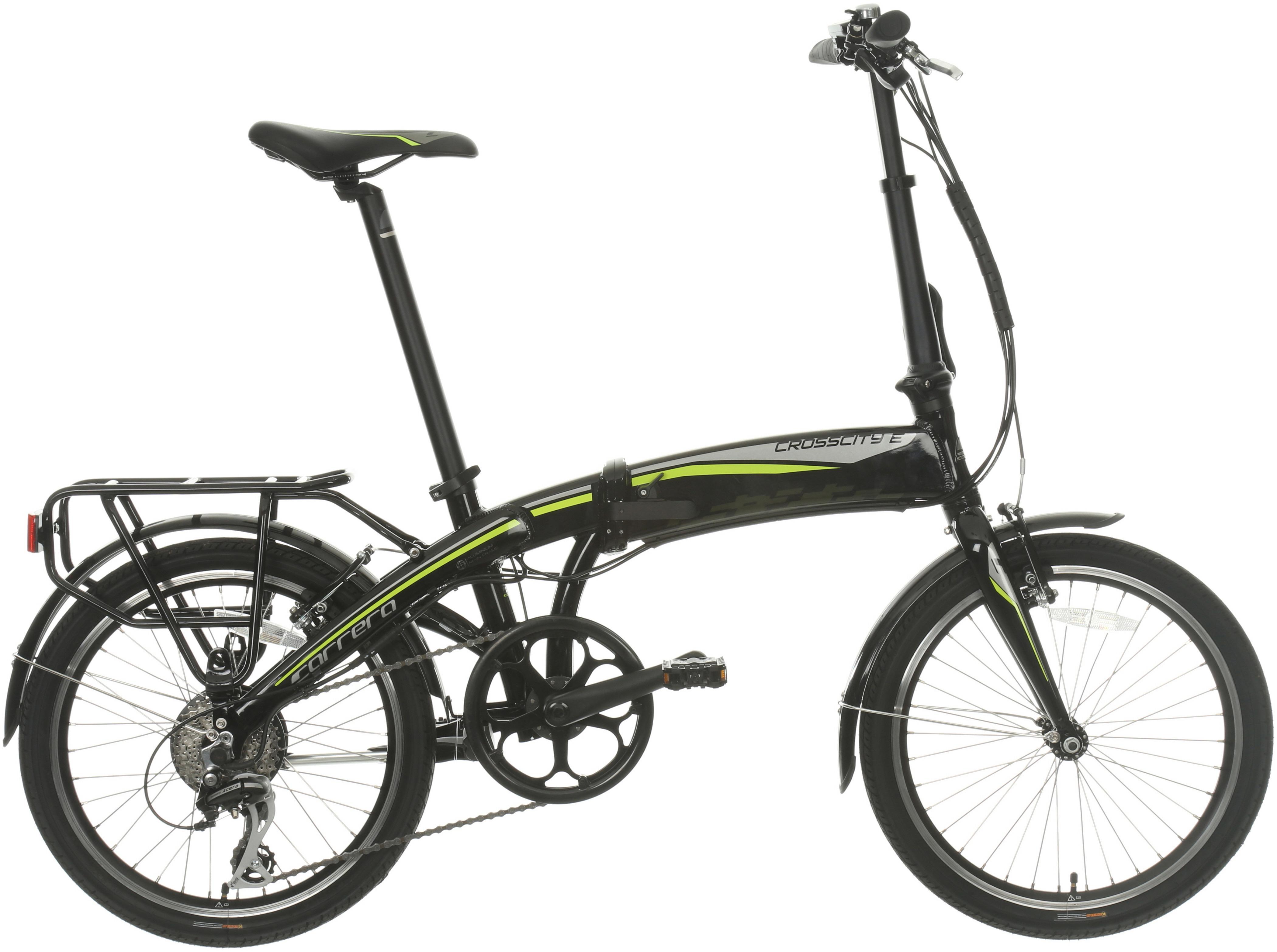 Carrera Crosscity Folding Electric Bike 2021