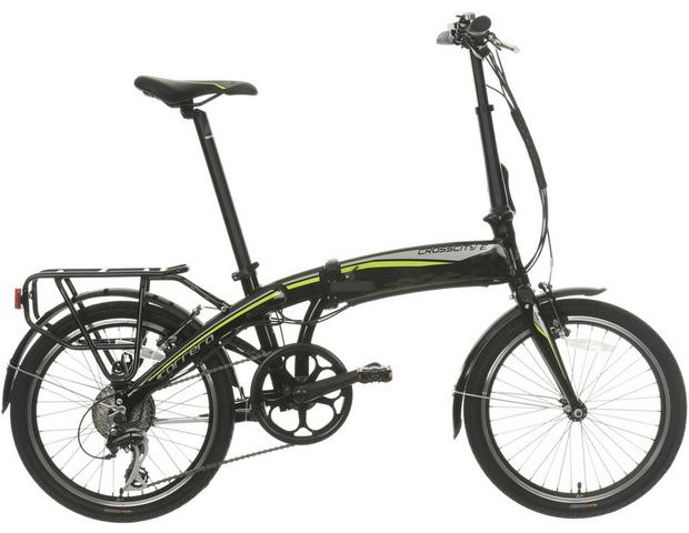Carrera Cross City Folding E Bikee