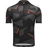 image of Boardman Mens Cycle Jersey - Grey/Orange