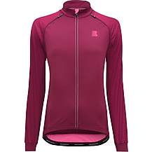 image of Boardman Womens Removable Sleeve Jacket - Burgundy/Pink