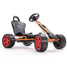 image of Cross Runner Go Kart - Orange