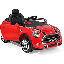 image of Mini Cabrio Electric Ride On - Red