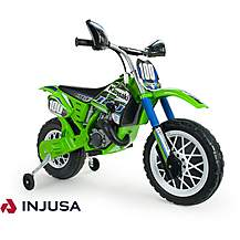 image of Kawasaki MotoCross Scrambler 6V Electric Ride On