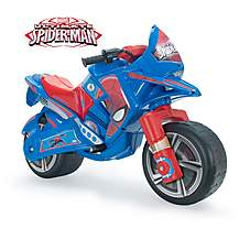 image of Spiderman Claws Motorbike 6V Electric Ride On