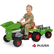 image of Dumper Truck and Trailer 6V Electric Ride On