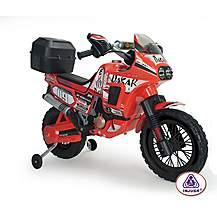 image of Dakar Africa Twin Motorbike 6V Electric Ride On