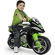 image of Winner Kawasaki Foot to Floor Ride On Motorbike