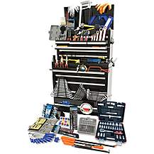 image of Hilka 489 Piece Tool Kit in Pro Chest and Cabinet