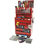 image of Hilka 271 Piece Tool Kit HD Tool Chest and Cabinet