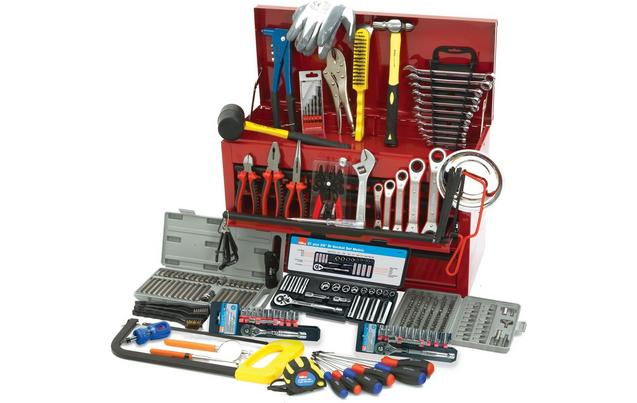 Hilka 270 Piece Tool Kit in Heavy Duty Tool Chest