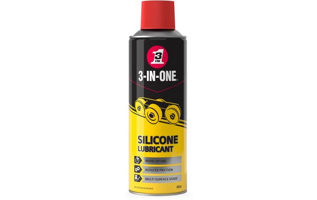 Silicone Spray Lubricant >> 3 In One Professional Silicone Spray Lubricant 400ml