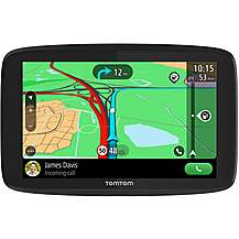 "image of TomTom Go Essential 6"" Sat Nav with Lifetime Full Europe"