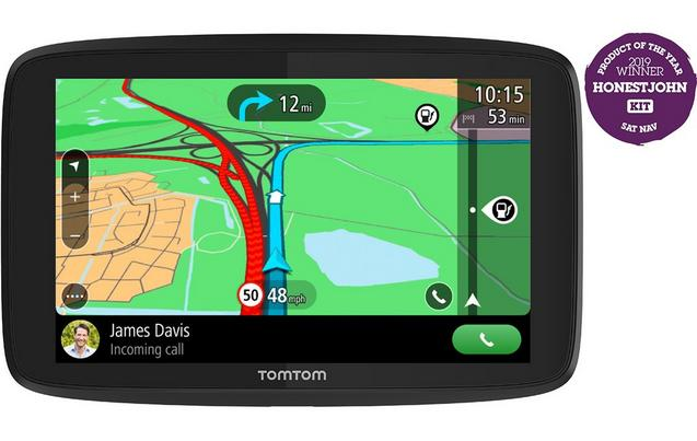 TomTom GO 5200 Car Sat Nav with Wi-Fi, Traffic, World Maps, Siri and Google Now integration