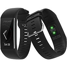 image of Polar A370 Fitness Tracker, Black