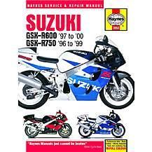 image of Haynes Suzuki GSX-R600 & 750 (96 - 99)