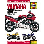 Haynes Yamaha YZF600R Thundercat & FZS600 Fazer (96 - 01)