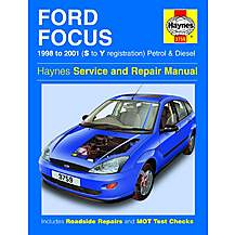image of Haynes Ford Focus (98 - 01) Manual