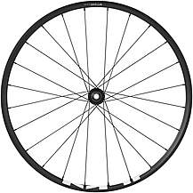 "image of Shimano MT500 27.5"" Front Wheel, 15 x 100mm, Black"