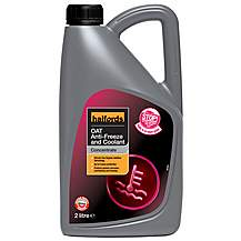 image of Halfords OAT Antifreeze Concentrate 2 Litres