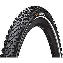 "image of Continental Traffic II Reflex 24"" x 1.75"" Bike Tyre"
