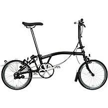 Brompton S3L Folding Bike - Black - 16