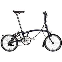 "image of Brompton S6L Folding Bike - Tempest Blue - 16"" Wheel"