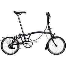 Brompton S6L Folding Bike - Tempest Blue - 16