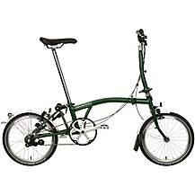 Brompton M3L Folding Bike - Racing Green - 16