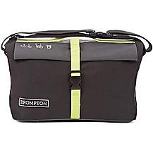 image of Brompton Roll Top Bag w/frame - Grey/Black