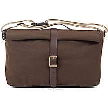 image of Brompton Roll Top Bag w/frame - Khaki