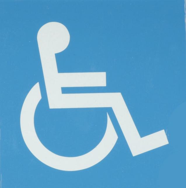 Halfords disabled sticker