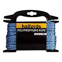 image of Halfords Polypropelene Rope 6mmx15m