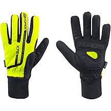 image of Force X72  Winter Cycle Gloves - Hi Vis Yellow