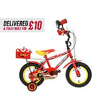 "image of Delivered And Built Apollo Firechief Kids Bike - 12"" Wheel"