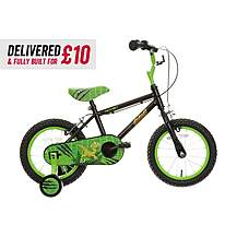 "image of Delivered And Built Apollo Claws Kids Bike - 14"" Wheel"