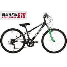 "image of Delivered And Built Apollo Gridlok Junior Mountain Bike - 24"" Wheel"
