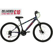 "image of Delivered And Built Apollo Interzone Junior Mountain Bike - 24"" Wheel"