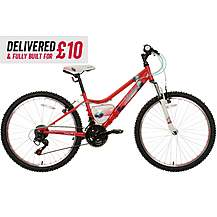 "image of Delivered And Built Apollo Independence Junior Mountain Bike - 24"" Wheel"