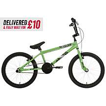 "image of Delivered And Built X-Rated Flair BMX Bike 20"" Wheel"