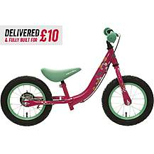image of Delivered And Built Apollo Wizzer Balance Bike Pink - 12""